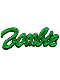 Kreepsville Gothic Aufnäher Zombie grün