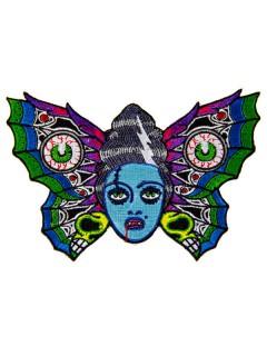 Kreepsville Gothic Aufnäher Schmetterling bunt