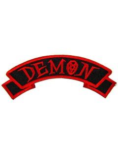 Kreepsville Gothic Aufnäher Demon schwarz-rot