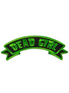 Kreepsville Gothic Aufnäher Dead Girl schwarz-grün