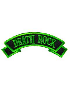 Kreepsville Gothic Aufnäher Death Rock schwarz-grün