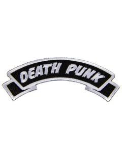 Kreepsville Gothic Aufnäher Death Punk schwarz-weiss