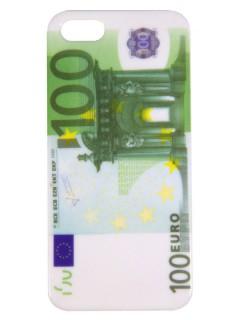 iPhone 5 Hülle Smartphone-Cover 100 Euro-Schein grün-weiss 14,5x8,5x0,6cm