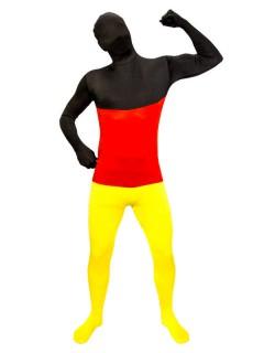 Speedsuit Deutschland Fussball Fanartikel schwarz-rot-gelb