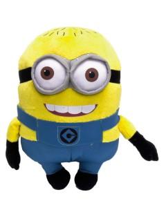 Minions™-Plüschtier Tom Geschenkidee 28cm blau-gelb
