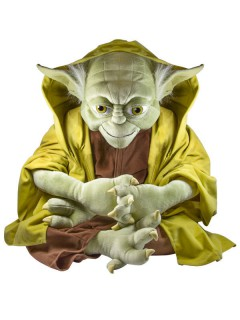 Yoda™-Plüschfigur Dekoration grün-braun 60cm
