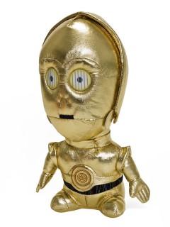 Star Wars™ C3PO-Plüschfigur gold 23cm