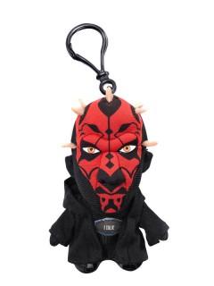 Darth Maul™-Schlüsselanhänger Plüsch Star Wars™ schwarz-rot 10cm