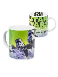 Star Wars Stormtrooper-Tasse Lizenzartikel weiss-grün 320ml