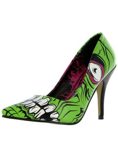 Iron Fist High Heels Accessoire schwarz-grün