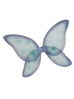Feen-Flügel Glitzer Schmetterling blau