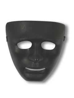 Gesichts-Maske Phantom schwarz