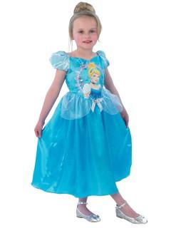 Cinderella Disney Kinderkostüm Prinzessin Lizenzware hellblau