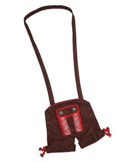 Trachten Handtasche Lederhose braun
