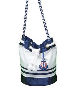 Matrosinnen Handtasche Sailor Girl blau-weiss