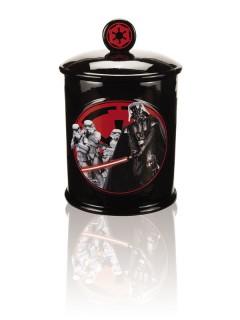 Star Wars Darth Vader und Stormtrooper Keksdose mit Deckel Lizenzware schwarz-rot