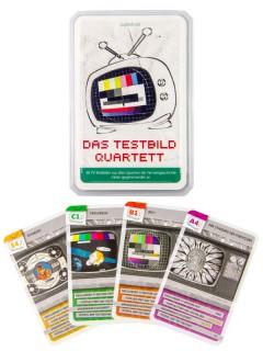 Testbild Quartett Kartenspiel 32-teilig bunt 10x6x2cm