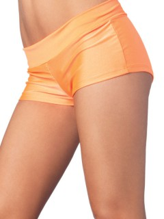 Mini-Shorts orange