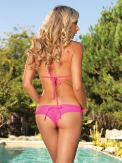 Bikini-Set Sommeroutfit pink