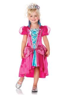Märchen-Prinzessin Kinderkostüm pink-blau