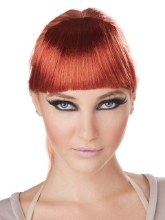 Ansteckbarer Pony Haarclip rot