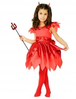 Teufelin Kinderkostüm rot