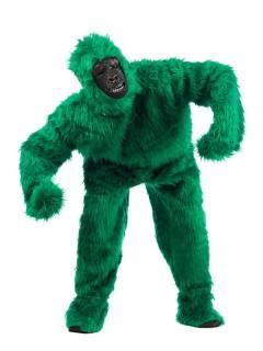 Gorilla Deluxe Kostüm grün