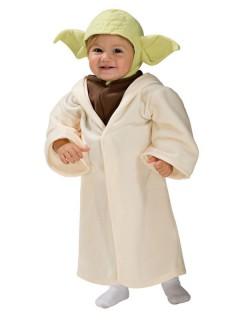 Original Star Wars Yoda Kinderkostüm beige-braun-grün