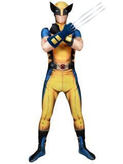 Marvel Wolverine Digital Morphsuit Lizenzware gelb-blau-schwarz
