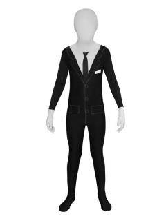 Phantom Kinder Morphsuit Halloween schwarz-weiss