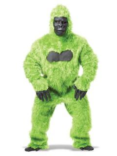Gorilla Overall Kostüm schwarz-grün