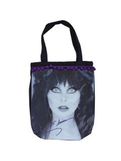 Kreepsville Gothic Handtasche Elvira schwarz-weiss