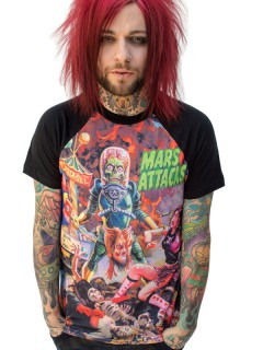 Mars Attacks-T-Shirt Kreepsville bunt