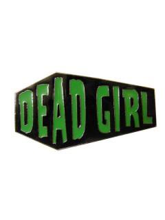 Kreepsville Gothic Ring Sarg Dead Girl schwarz-grün