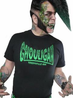Kreepsville-Shirt Halloween-Shirt Ghouligan schwarz-grün
