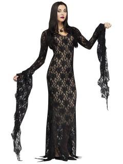 Gothic-Vampirin Halloweenkostüm für Damen schwarz