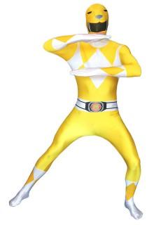 Power Rangers Morphsuit Lizenzware gelb