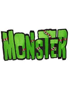 Kreepsville Gothic XL Aufnäher Patch Monster grün-schwarz-rot
