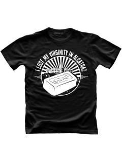 Alcatraz Prison Wear Soap Fun-Shirt schwarz-weiss
