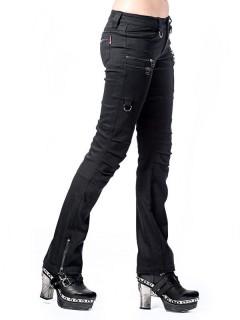 Gothic-Hose für Damen Gothic-Mode schwarz