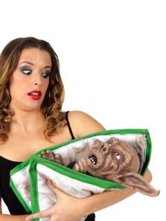 Monster Baby Halloween Deko Figur bunt 45cm