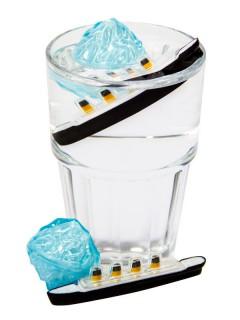 Getränkekühler Titanic Eiswürfel-Set 2-teilig Party-Gadget bunt