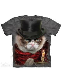 The Mountain Grumpy Cat Grumpenezer Scrooge Weihnachten Lizenz T-Shirt bunt