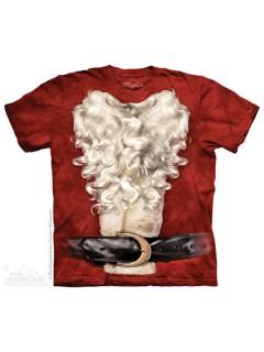 The Mountain Weihnachtsmann Weihnachten Lizenz T-Shirt bunt