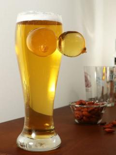 Riesenbusen Bierglas Partyglas transparent 800ml