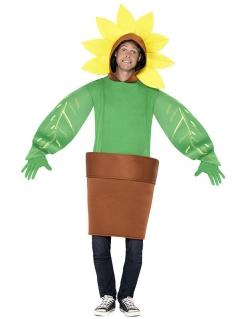 Sonnenblume im Topf Kostüm Unisex bunt