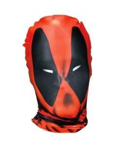 Marvel Deadpool Morph Maske Lizenzware schwarz-rot