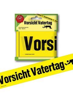 Absperrband Vorsicht Vatertag schwarz-gelb 6m