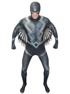 Marvel Black Bolt Morphsuit Lizenzware schwarz-grau-weiss