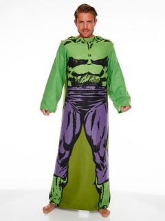 Hulk™-Bademantel Marvel™ grün-violett
